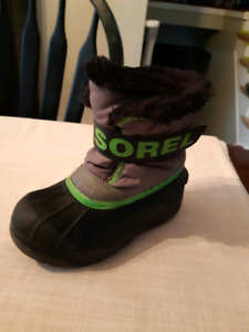 Size 10 boys sorel and superstars