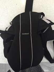Baby Bjorn carry with cocoon