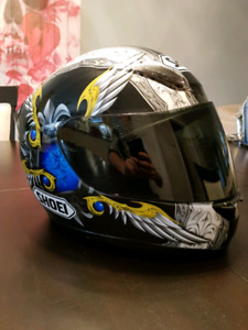 Shoei motorcycle helmet / casque moto shoei