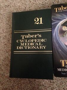 Taber's cyclopedic medical dictionary new
