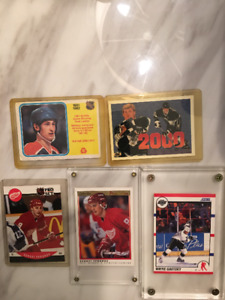 Collector hockey cards