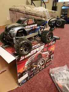 Traxxas Stampede VXL 4x4  brushless brand new