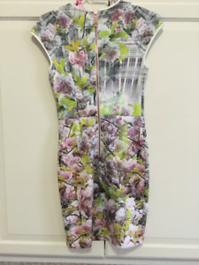 Ted Baker Mini Dress, Size 1, NWT - New With Tags - Never Worn