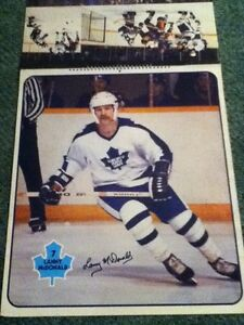 1979-80 Toronto Maple Leafs calender / posters. Man cave Peterborough Peterborough Area image 4