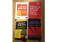 Teachers skills test and books all really expensive £25.00