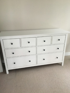 Brand new, never used, assembled Ikea Hemnes 8 Drawer Dresser