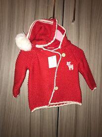 Next Baby 3-6 months girls cardigan