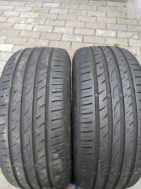 205/40/17 6mm+ part worn tyres