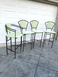 4 Bar Stools (sold as a set)