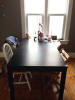 Ikea dining table with 2 extensions