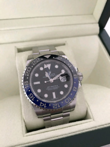 GMT MASTER II BATMAN FOR SALE (NEW)