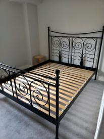 Bed Frame, standard Ikea Double