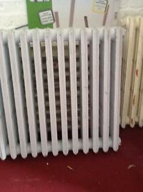 Victorian cast iron radiators