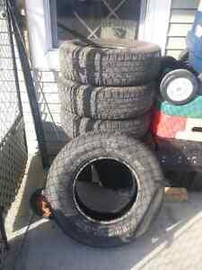 4 Hucules Terra Trac tires. 235/75R15