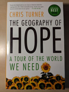 THE GEOGRAPHY OF HOPE - CHRIS TURNER (NEW EXCELLENT CONDITION)