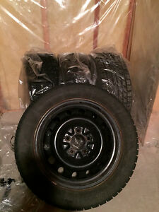 Toyo Winter Tires, Rims, and Hubcaps 205/55R 16