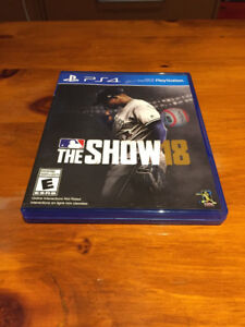 MLB The Show 18 Like New
