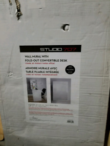 Studio 007 Brand New Mural covertible Desk never out of box