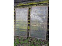 Dutch Light Greenhouse Glass & Frames