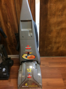 bissell pro heat carpet cleaner used  very little