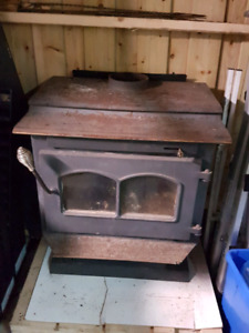 Woodstove and pipe