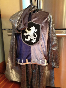child's size 8 knight's costume
