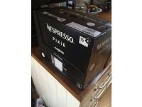 Brand New Nespresso Pixie coffee Machine