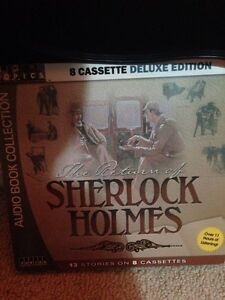 The return of Sherlock Holmes 8 cassette deluxe edition London Ontario image 1