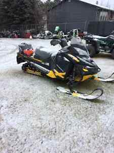 2 Snowmobiles and 2 place trailer starting at $1500.00