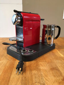 Nespresso Espresso Maker With Milk Frother