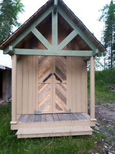 Timberframe Style Building.