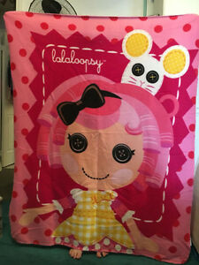 NWOT Lalaloopsy Throw Blanket