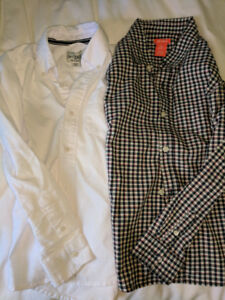 Boys size 7/8 dress clothes with shoes