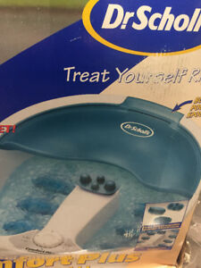 Dr. Scholl's Comfort plus foot spa with heat and bubbles