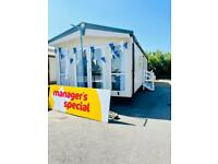 brand new static caravan for sale at Bunn Leisure - Call Josh 07955825040