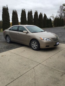 2009 Toyota Camry, safetied