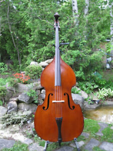 Double Bass - French - Mirecourt - early 1900s