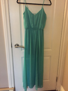 EUC Semi-formal Turqoise Dress Sz XS/S