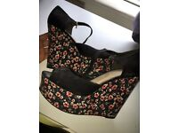 New look wedges barely worn size 6