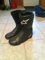 Alpine star motorcycle boots