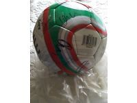 Welsh Hand Signed Football FAW 2012/13 Bale Ramsey Hennessey
