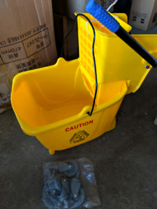 Brand New Mop Bucket with Wheels