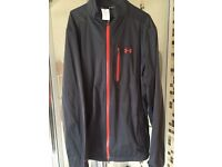 Under armour golf jacket large