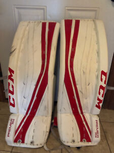 CCM premier R 1.9 goalie pads for sale.