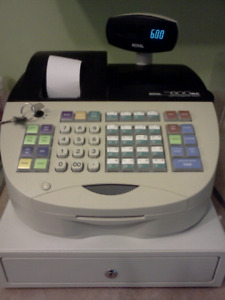 Royal Alpha 600sc Electronic Cash Register for sale