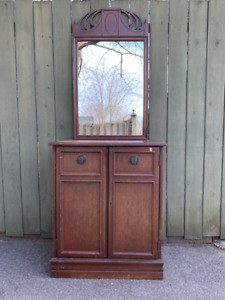 """VINTAGE CABINET """"YOURS TO RESTYLE"""""""