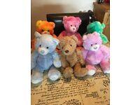 6 build a bear teddy bears. Bear factory toys