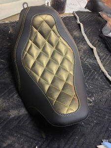 custom motorcycle seats done here