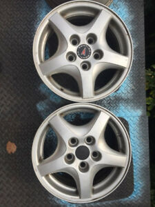 Mags/rims 15 inches/pouces 5x115