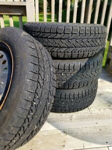 Winter Tires including Rims